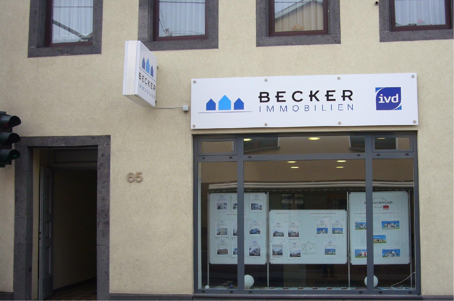 Becker Immobilien Immobilienmakler Bendorf